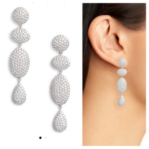 Nordstrom Pave Spheres Multishape Drop Earrings