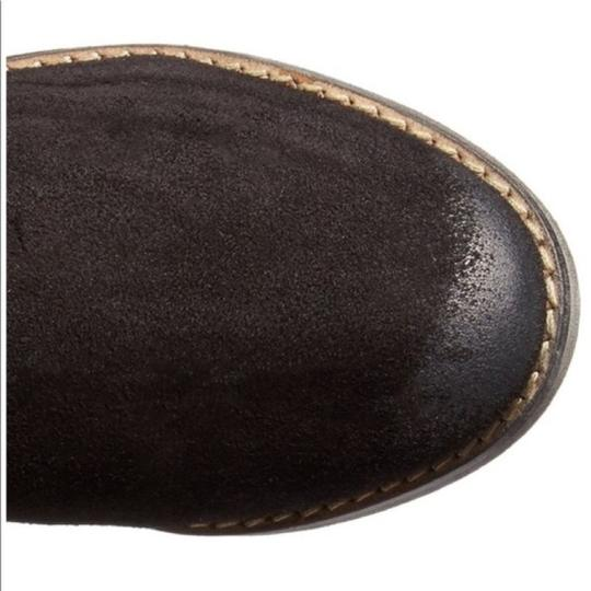 Musse & Cloud Suede Over-the-knee Burnished Flat Musse-cloud Black Boots Image 4