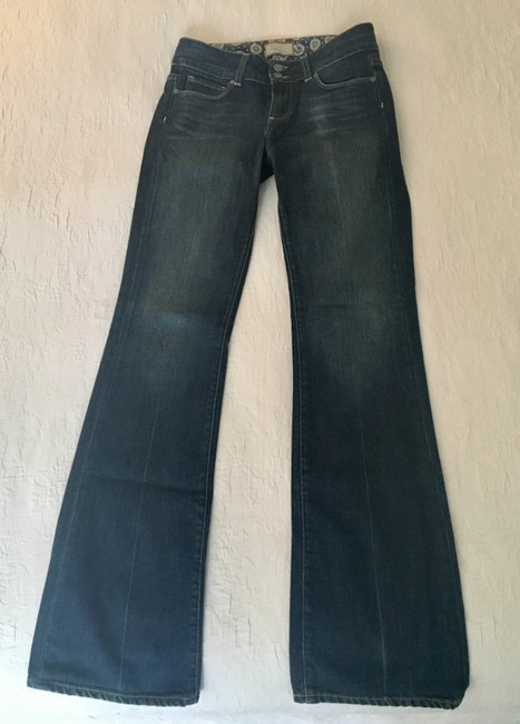 Paige High Boot Cut Jeans-Medium Wash Image 3