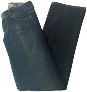 Paige High Boot Cut Jeans-Medium Wash