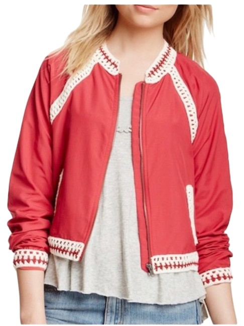 Preload https://img-static.tradesy.com/item/25655386/free-people-red-baseball-jacket-size-2-xs-0-1-650-650.jpg