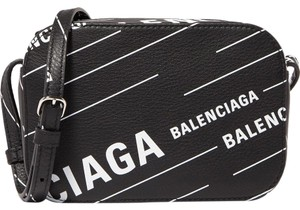 Balenciaga Everyday Xs Aj Printed Cross Body Bag