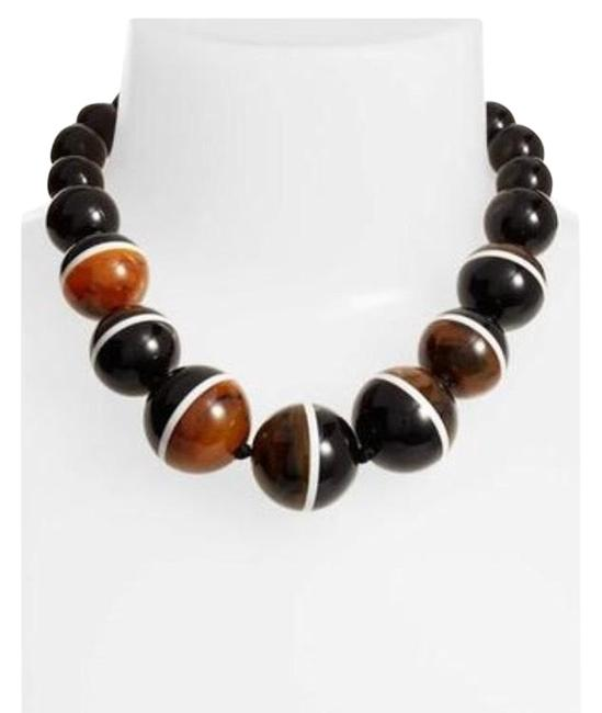 Item - Black/ Brown In A Flash Collar Necklace