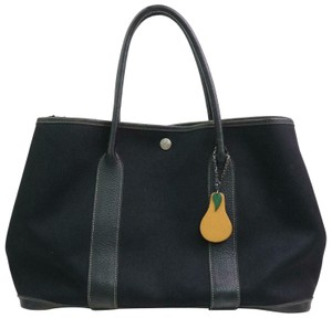 Hermès Garden Party Neverfull Birkin Kelly Tote in Black