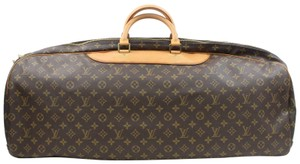 Louis Vuitton Keepall Carryall Bandouliere Sirius Alize Brown Travel Bag