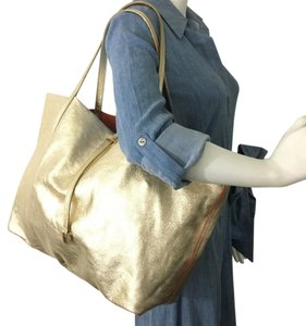 Tiffany & Co. Shopper Bucket Neverfull Cabas Liz Tote in Gold