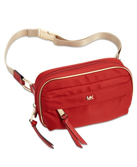 Preload https://img-static.tradesy.com/item/25656814/michael-kors-red-bag-nylon-utility-fanny-pack-belt-0-3-540-540.jpg
