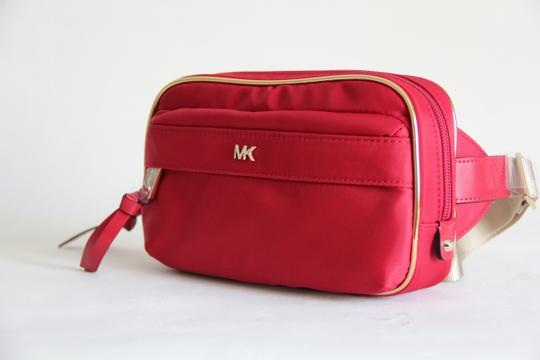 Michael Kors Michael Kors Nylon Utility Belt Bag Fanny Pack Red Image 3