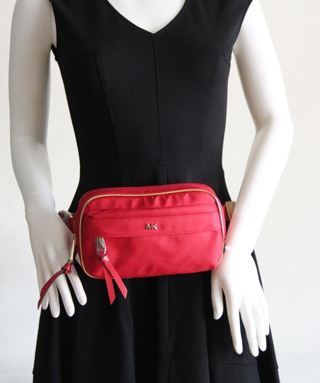 Michael Kors Michael Kors Nylon Utility Belt Bag Fanny Pack Red Image 4