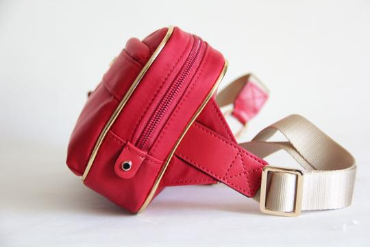 Michael Kors Michael Kors Nylon Utility Belt Bag Fanny Pack Red Image 5