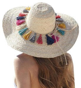 Mar Y Sol Paloma Multicolored Tassel Hat