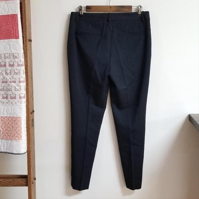 Theory Dress Size 6 Trouser Pants Navy Blue Image 1