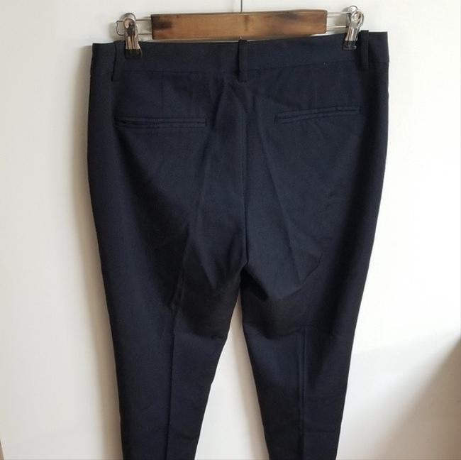 Theory Dress Size 6 Trouser Pants Navy Blue Image 3