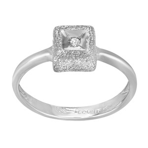 Saya Diamond Ladies Ring 0.02 Cttw Size 8