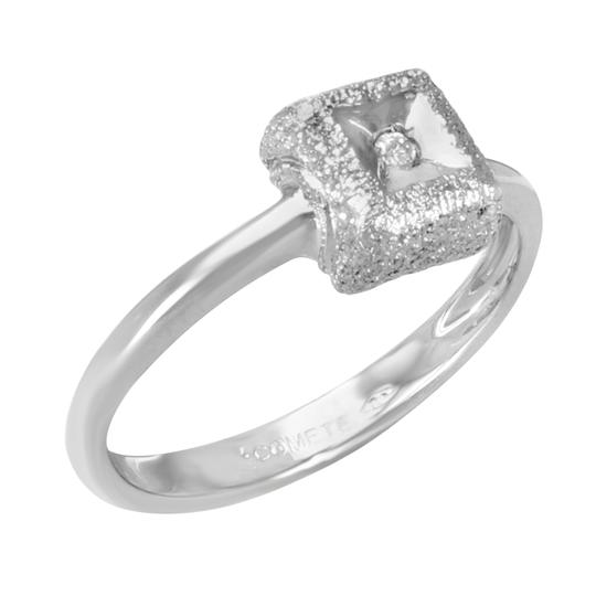 Saya Diamond Ladies Ring 0.02 Cttw Size 8 Image 1