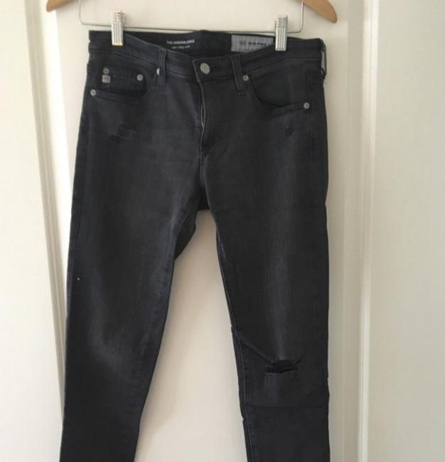 AG Distressed Casual Skinny Jeans-Distressed Image 1