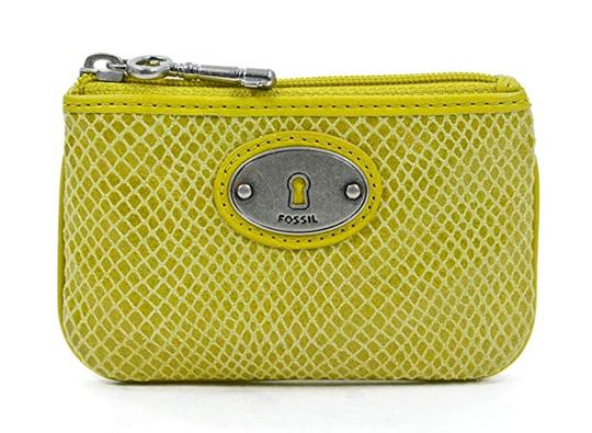 Preload https://img-static.tradesy.com/item/25657277/fossil-yellow-embossed-perfect-zip-coin-mineral-purse-wallet-0-0-540-540.jpg