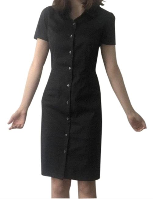 Preload https://img-static.tradesy.com/item/25657284/theory-black-shirtdress-mid-length-workoffice-dress-size-4-s-0-1-650-650.jpg