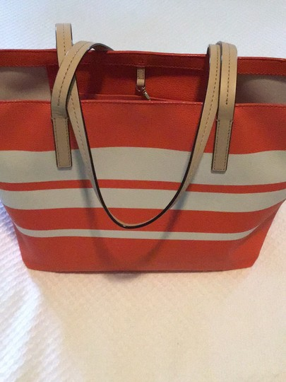 Kate Spade Tote in orange/white Image 3