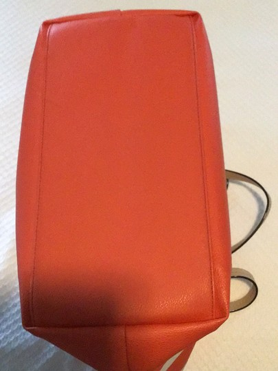 Kate Spade Tote in orange/white Image 4
