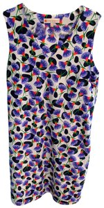 Jude Connally short dress blue white coral flowers on Tradesy