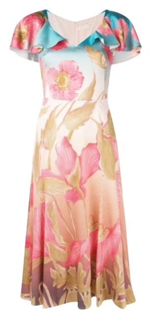 Preload https://img-static.tradesy.com/item/25657436/peter-pilotto-pink-multi-floral-print-hammered-silk-mid-length-workoffice-dress-size-2-xs-0-2-650-650.jpg