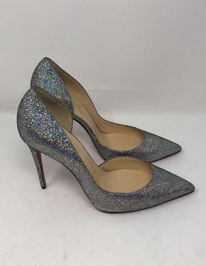 Christian Louboutin silver Pumps Image 1