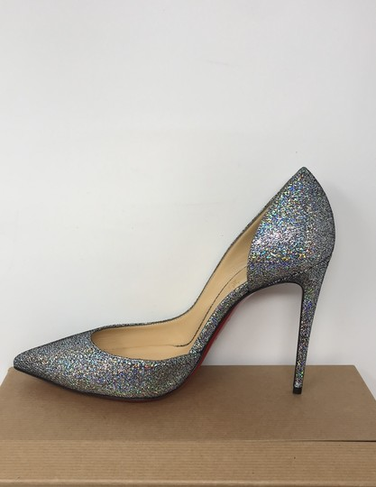 Christian Louboutin silver Pumps Image 10