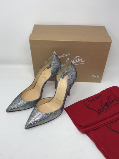 Christian Louboutin silver Pumps Image 11