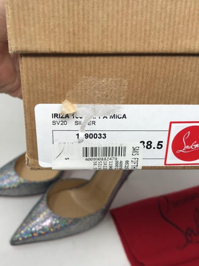 Christian Louboutin silver Pumps Image 12