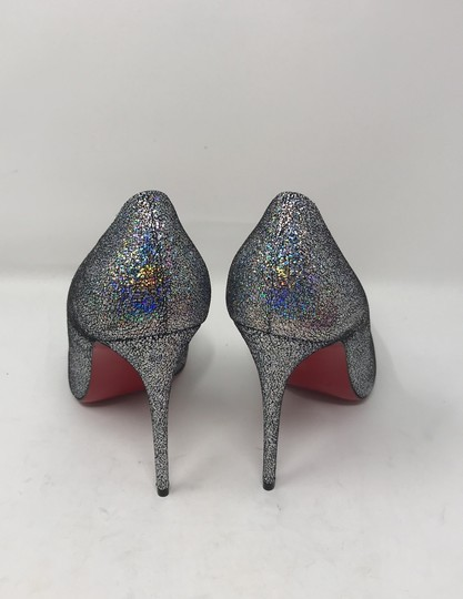 Christian Louboutin silver Pumps Image 2