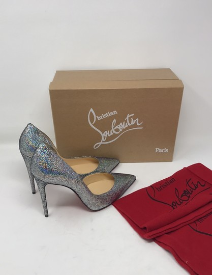 Christian Louboutin silver Pumps Image 5