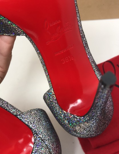 Christian Louboutin silver Pumps Image 7