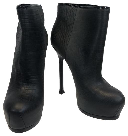 Preload https://img-static.tradesy.com/item/25657480/saint-laurent-black-and-grey-yves-leather-bootsbooties-size-eu-37-approx-us-7-regular-m-b-0-1-540-540.jpg