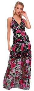 Dress the Population Full Length Maxi Party Dress