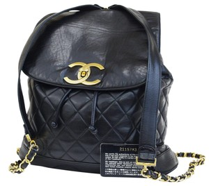 Chanel Vintage Lambskin Backpack