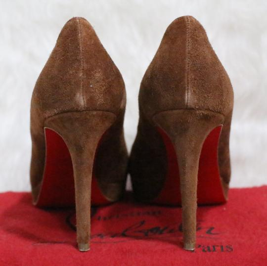 Christian Louboutin Brown Pumps Image 3