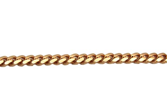 Other (2095) 14k solid Rose Gold Miami Cuban Chain Necklace Image 1