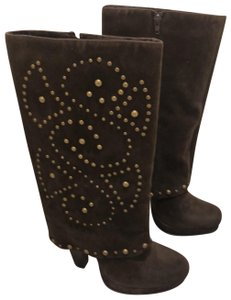 Lovely People brown suede Boots