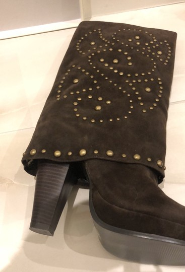 Lovely People brown suede Boots Image 6