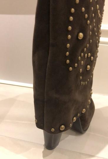 Lovely People brown suede Boots Image 8