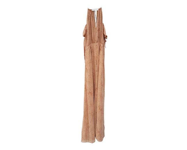 nude Maxi Dress by The Jetset Diaries Image 1