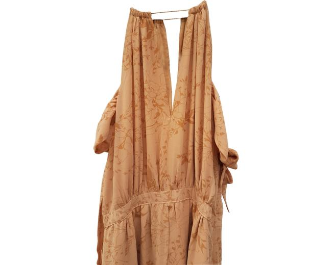 nude Maxi Dress by The Jetset Diaries Image 2