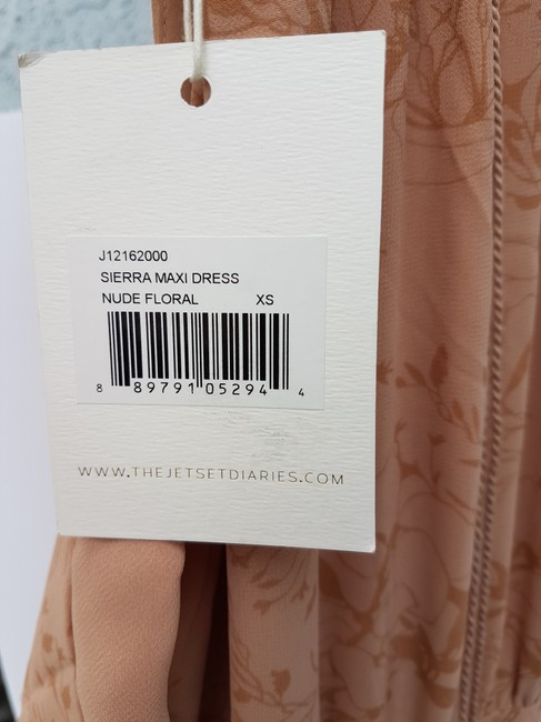 nude Maxi Dress by The Jetset Diaries Image 3