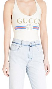 Gucci Sparkling Lycra Logo Swimsuit