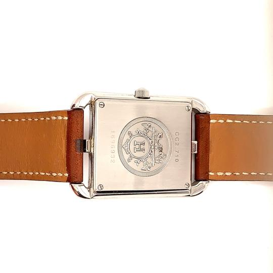 Hermès Hermes Cape Cod Stainless Steel & Leather Strap Watch Image 5