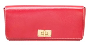 Prada 491531 Hot Pink Clutch
