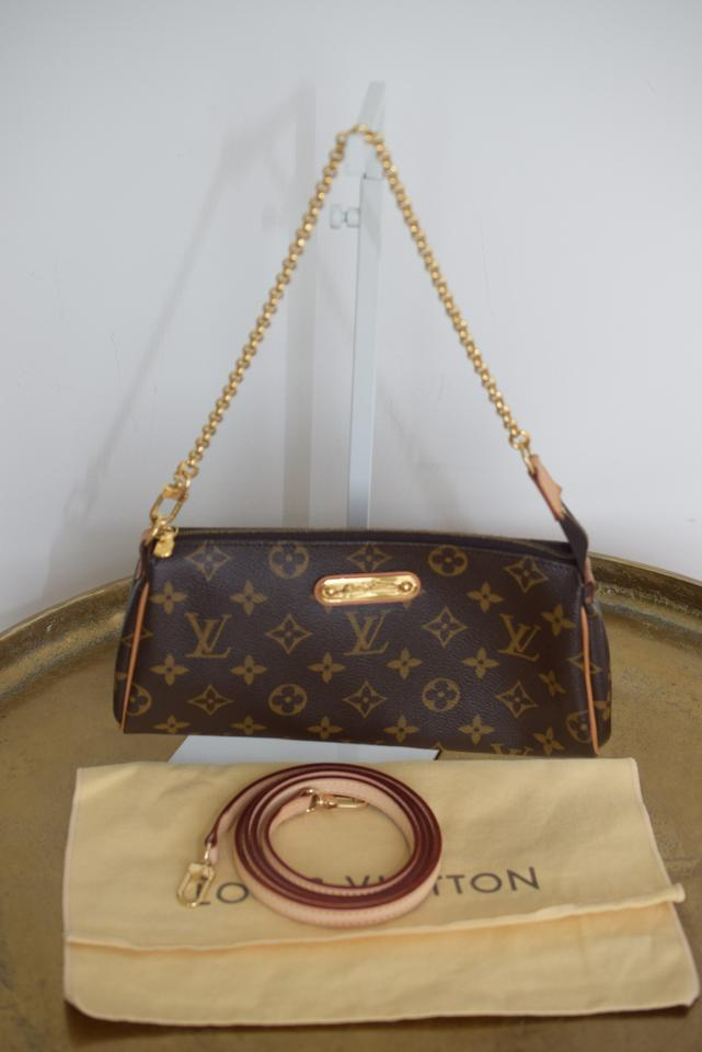 3d3c5927e6518 Louis Vuitton Eva Ebene Shoulder Damier with Cherry Interior ...