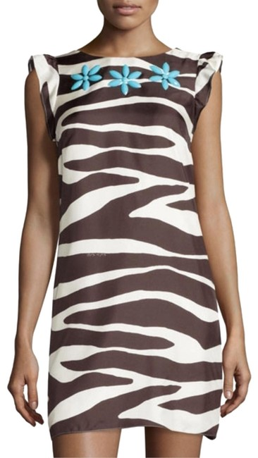 Preload https://img-static.tradesy.com/item/25657974/brown-white-beaded-in-your-best-silk-zebra-print-sheath-short-casual-dress-size-6-s-0-1-650-650.jpg