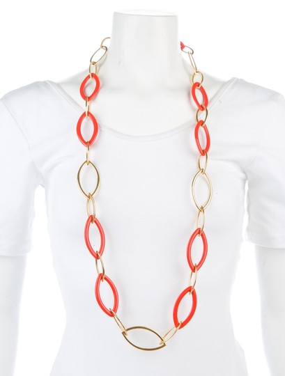 Vhernier Vhernier Pop Chain 18K Yellow Gold and reconstructed coral Image 3